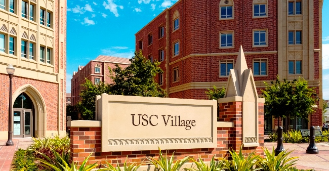 Usc Village Housing Room
