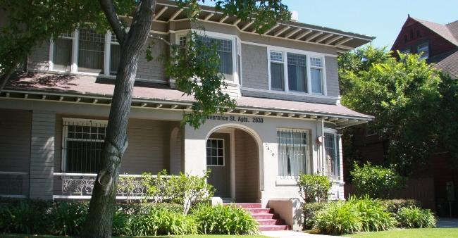 Severance Street Apts Usc Housing