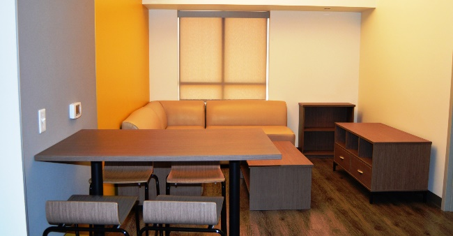 UVE 2 bedrooms 4 People LvgRm 10x1